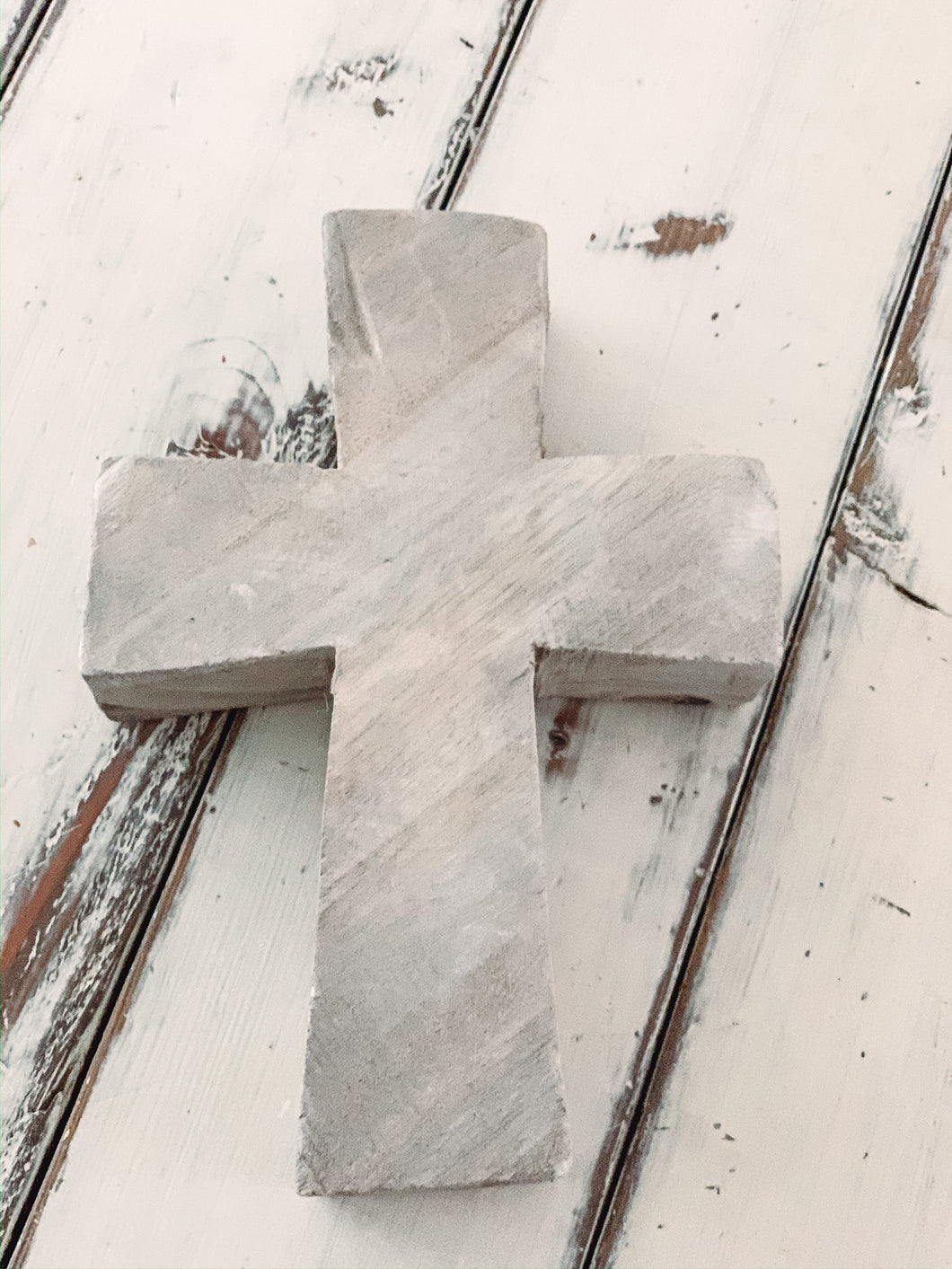 Standing Cross Grey - Baycreek & Co
