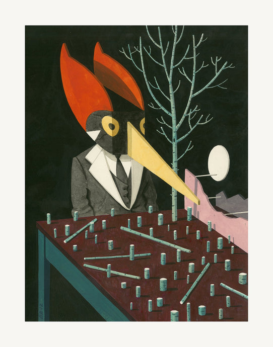 'Ivory-billed Woodpecker' by Bill Bragg