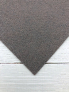 "OVERCAST - 12""x18"" Wool Blend Felt (Large Sheet)"