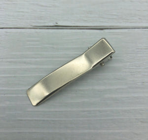 SILVER - 50mm Alligator Clips (with teeth)