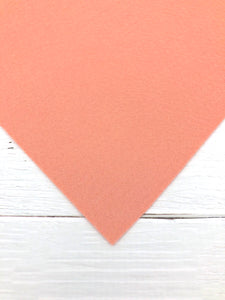"BLUSH - 12""x18"" Wool Blend Felt (Large Sheet)"