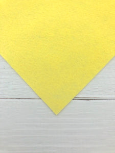"BUTTER - 12""x18"" Wool Blend Felt (Large Sheet)"