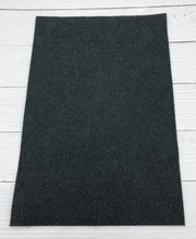 "CHARCOAL - 12""x18"" Wool Blend Felt (Large Sheet)"