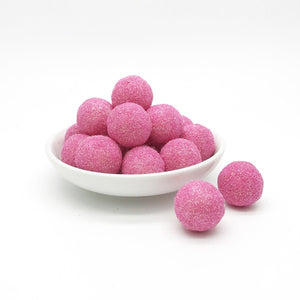 COTTON CANDY - 1cm Glitter Felt Balls