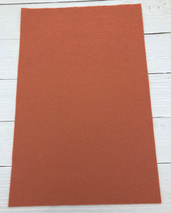 "GRAPEFRUIT - 12""x18"" Wool Blend Felt (Large Sheet)"