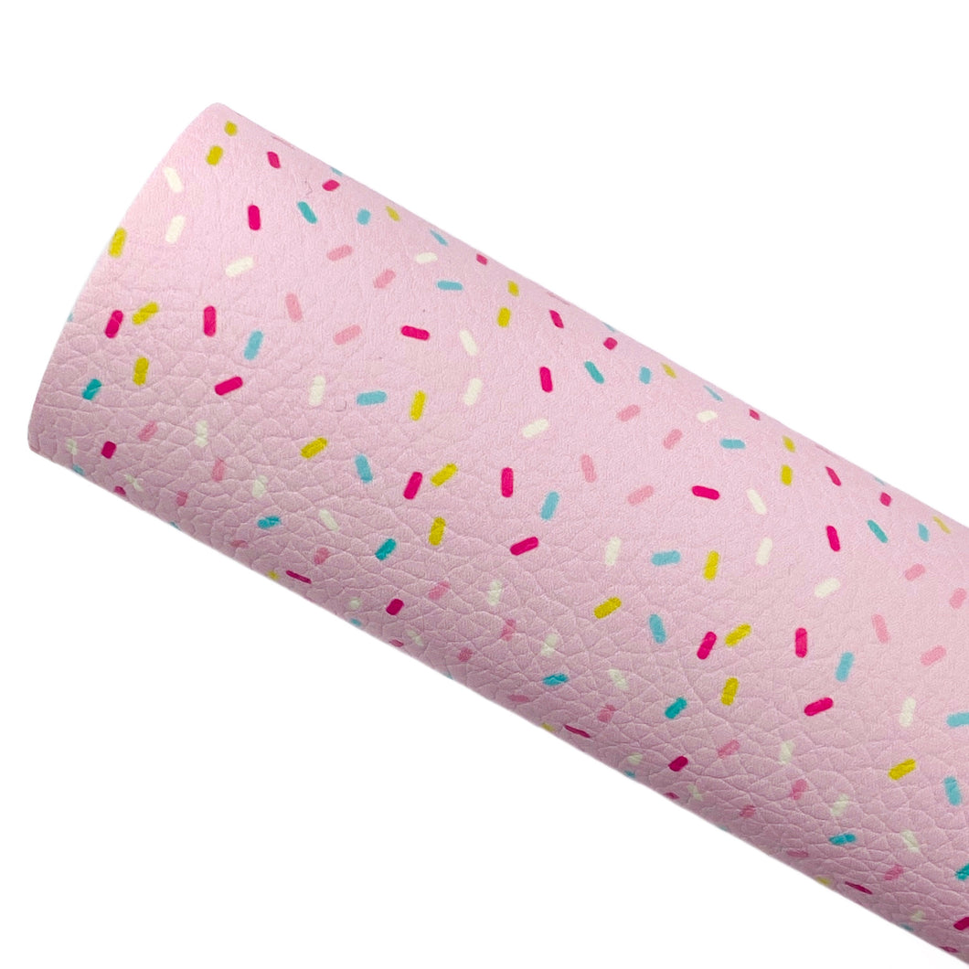 PINK SPRINKLES - Custom Printed Leather