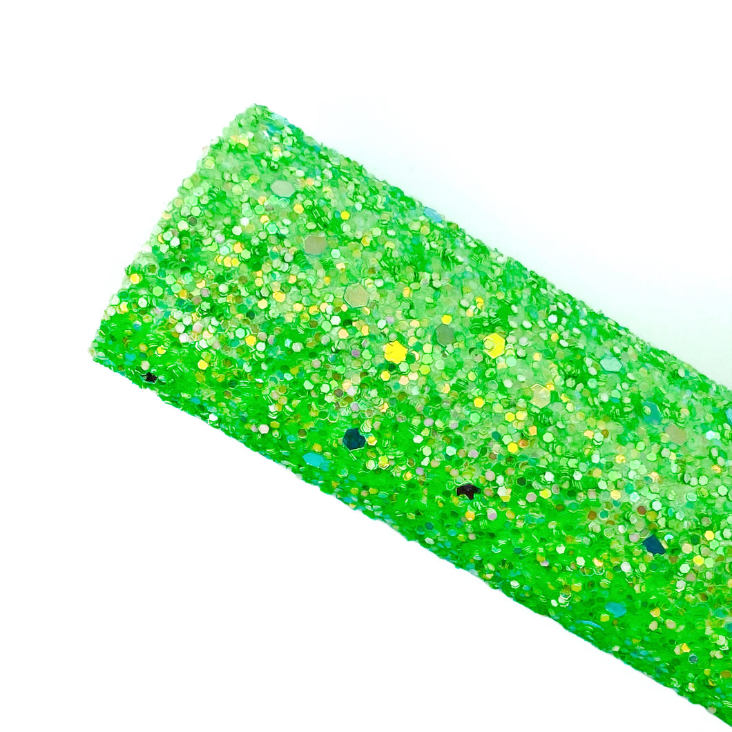 GREEN COLOUR-RIFFIC - Chunky Glitter