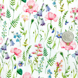 BE A WILDFLOWER - Custom Printed Bullet Liverpool Fabric