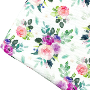 SPRING BEAUTY - Custom Printed Bullet Liverpool Fabric