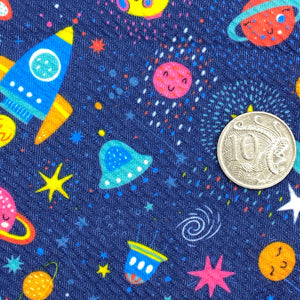 OUT OF THIS WORLD - Custom Printed Bullet Liverpool Fabric