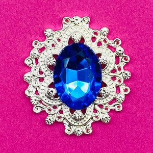 BLUE (FANCY) - Rhinestone Embellishments