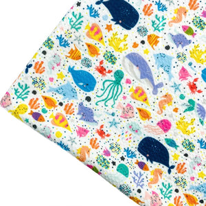 UNDER THE SEA - Custom Printed Bullet Liverpool Fabric
