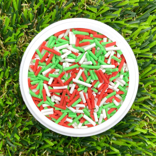 CHRISTMAS COLOURS MIX - Clay Sprinkles (10g)