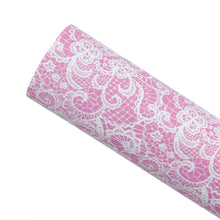 PINK LACE - Custom Printed Leather