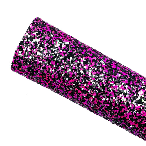 HOT PINK TWILIGHT - Chunky Glitter