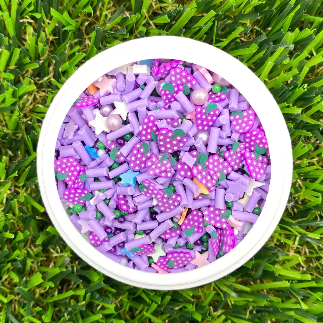 GRAPE MIX - Clay Sprinkles (10g)