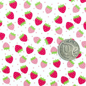 *PRE-ORDER* STRAWBERRY SHORTCAKE - Custom Printed Leather