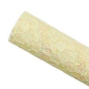 BUTTER LOVELY LACE - Glitter Fabric