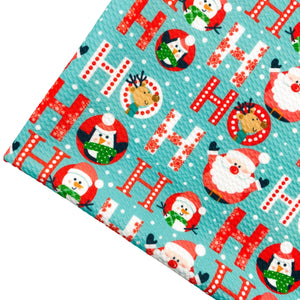 HO HO HO! - Custom Printed Bullet Liverpool Fabric