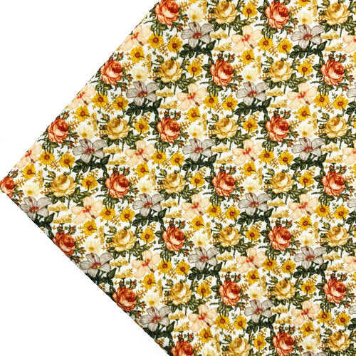 HEATHER BLOOMS - Custom Printed Bullet Liverpool Fabric