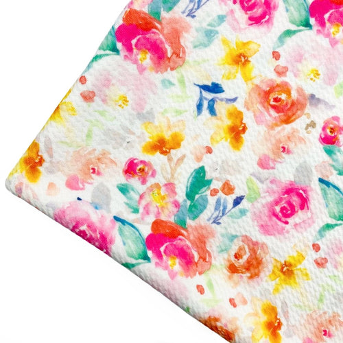 SUMMER BEAUTY - Custom Printed Bullet Liverpool Fabric