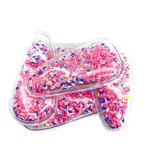 LIGHT PINK GEMS - Shaker Snap Clip Covers (3pcs)