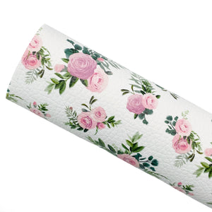 ROSE GARDEN - Custom Printed Leather