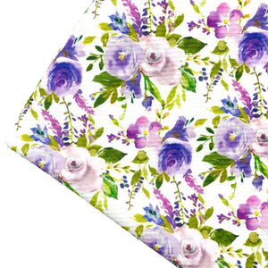LAVENDER DREAMS - Custom Printed Bullet Liverpool Fabric