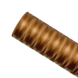 BROWN MAGIC STRIPE - Faux Leather