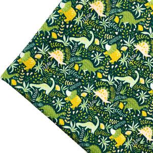 WALKING WITH DINOSAURS - Custom Printed Bullet Liverpool Fabric