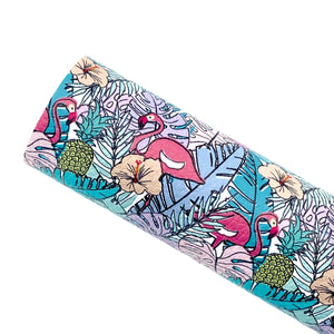 I SPY FLAMINGOS - Custom Printed Leather
