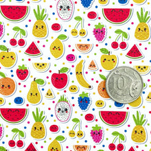 FRUIT SALAD - Custom Printed Leather