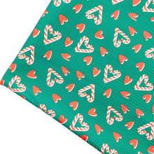 CANDY CANE LOVE - Custom Printed Bullet Liverpool Fabric