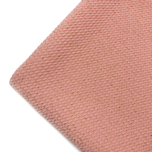 ROSY PEACH GOLD DUST - Bullet Liverpool Fabric