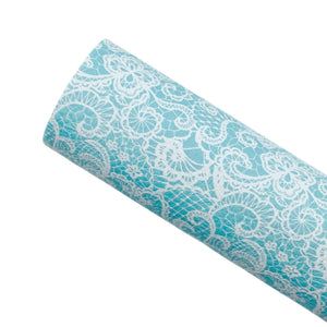 AQUA LACE - Custom Printed Leather