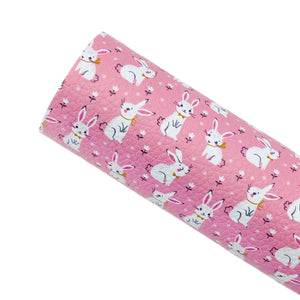 *PRE-ORDER* COTTON TAIL - Custom Printed Leather