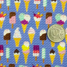 ICE CREAM DREAMS - Custom Printed Bullet Liverpool Fabric