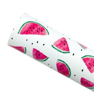 WATERMELON SLICES - Custom Printed Leather