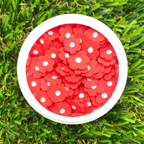 RED POPPIES - Clay Sprinkles (10g)
