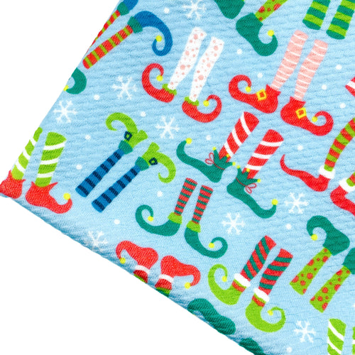 NAUGHTY OR NICE - Custom Printed Bullet Liverpool Fabric