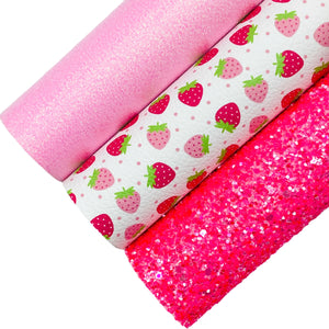 STRAWBERRY SHORTCAKE BUNDLE - (Set of 3)
