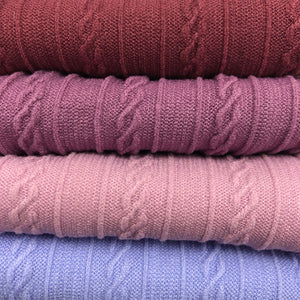 LILAC - Cable Knit Nylon Strip