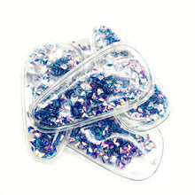 PURPLE GEMS - Shaker Snap Clip Covers (3pcs)
