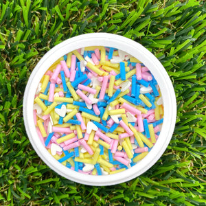 SUMMER HEART MIX - Clay Sprinkles (10g)