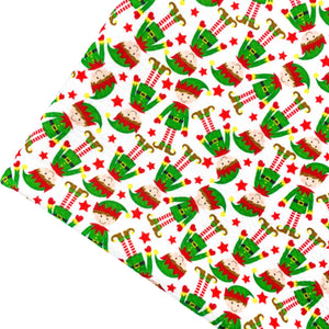 CHRISTMAS ELF - Custom Printed Bullet Liverpool Fabric