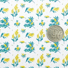 YELLOW WATTLE - Custom Printed Leather