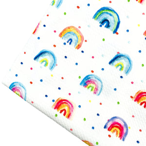 SING A RAINBOW - Custom Printed Bullet Liverpool Fabric