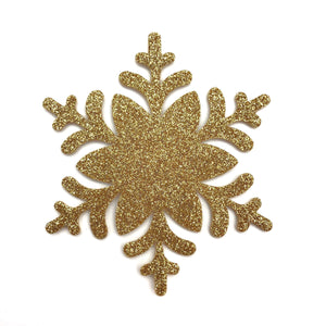 GOLD SNOWFLAKE - Die cuts