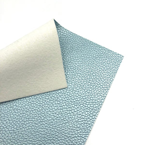 BLUE - Pearlised Leather