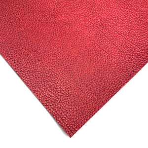 VINTAGE RED - Metallic Leather